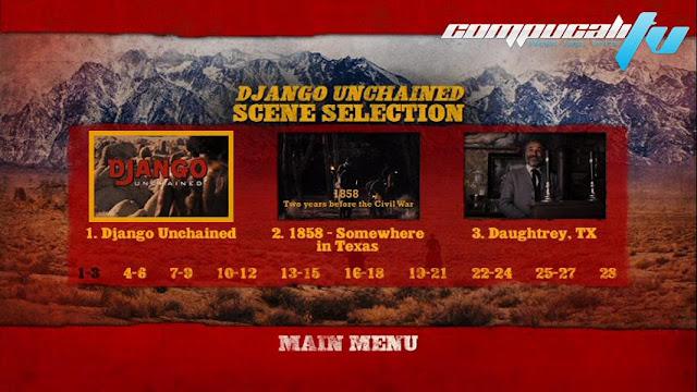 Django desencadenado DVDR NTSC Español Latino