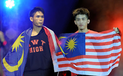 Sam Chan & Muhammad Hanif Legend FC MMA