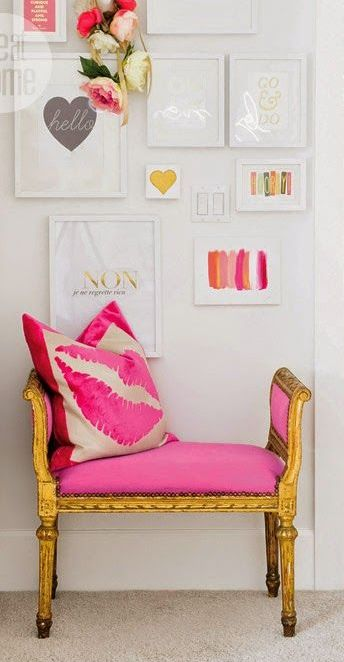 Gallery Wall Inspiration | Let\'s Get Preppy