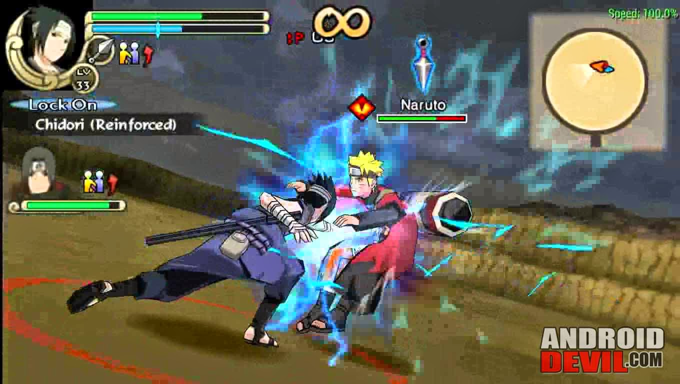 game naruto ppsspp di android