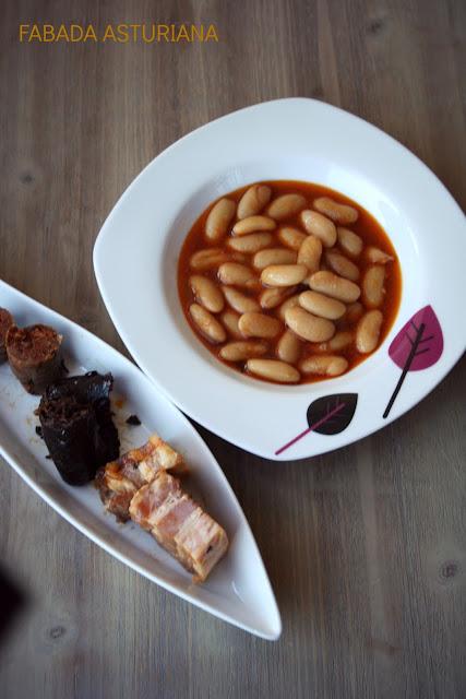 fabada asturiana, fabada de casa Gerardo