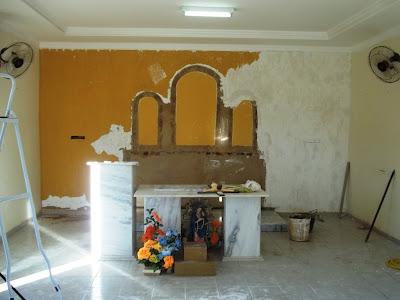Capela de N. Senhora do Perpétuo Socorro passa por reformas