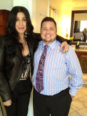 Cher and son Chaz Bono