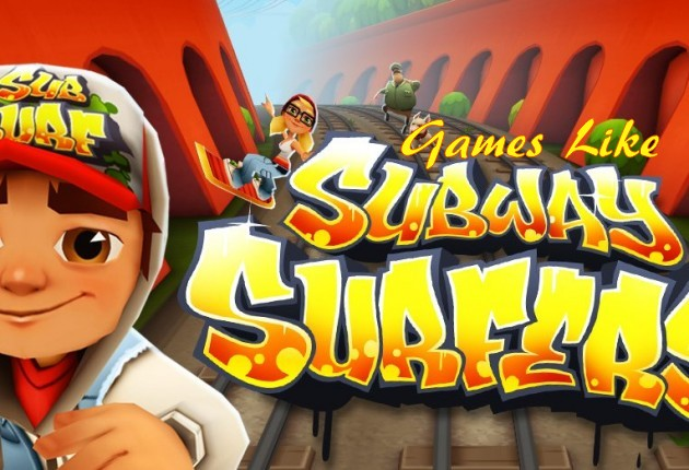 Games Like Subway Surfers, Subway Surfers, RUNNING GAMES
