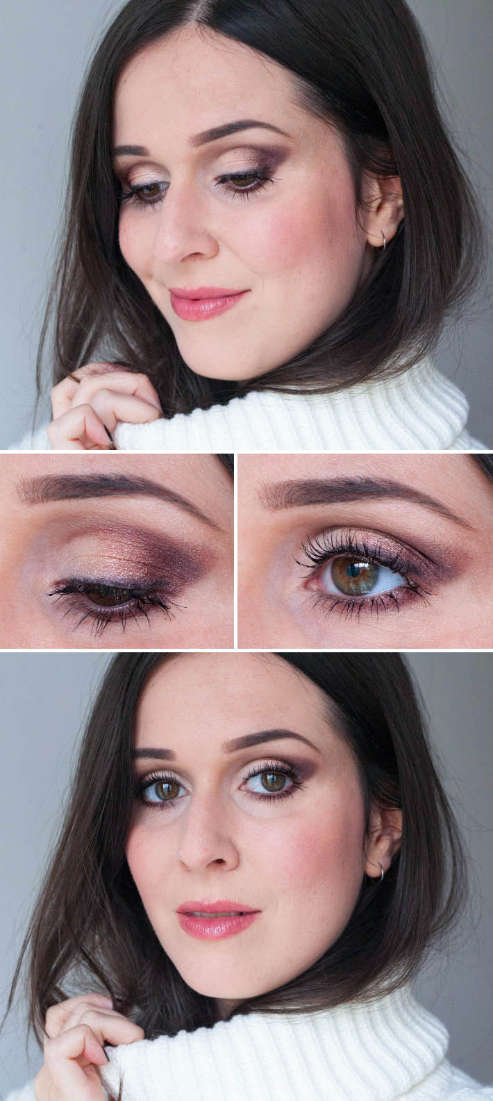 smokey eye make up look using Urban Decay x Gwen Stefani palette