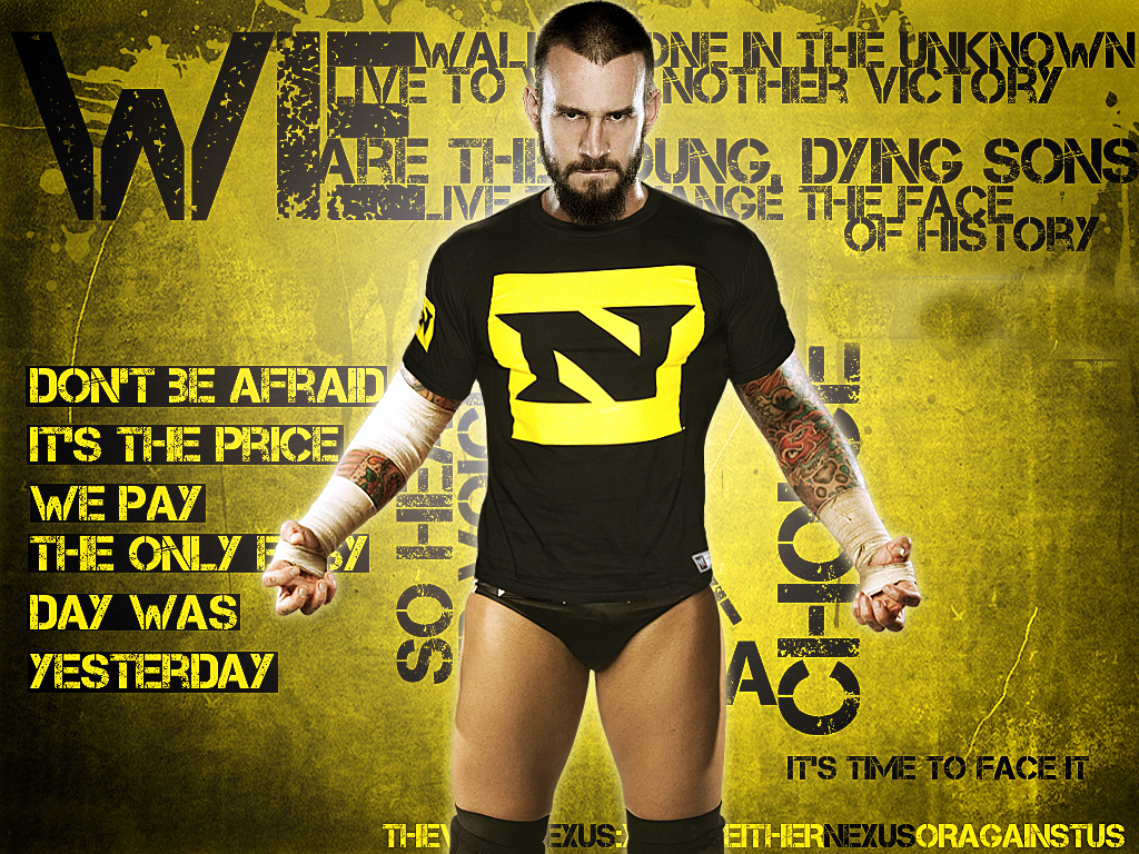Captivated by cm punk s rather unconventional behavior punk took the