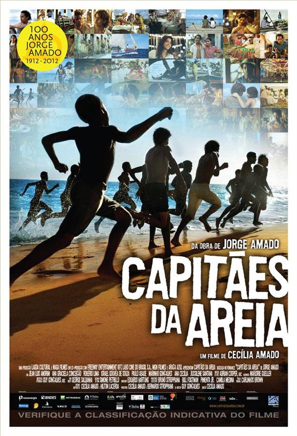 Cartaz do filme Capitães da Areia