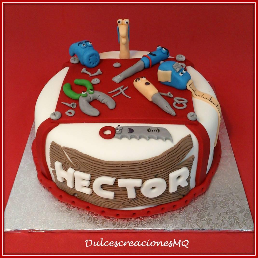 Manny Manitas Disney Tarta Pastel Cumpleaños Niño Herramientas  Bizcocho Buttercream Chocolate Fondant