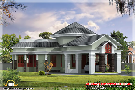 2550 square feet elegantly designed on floor house - May 2012