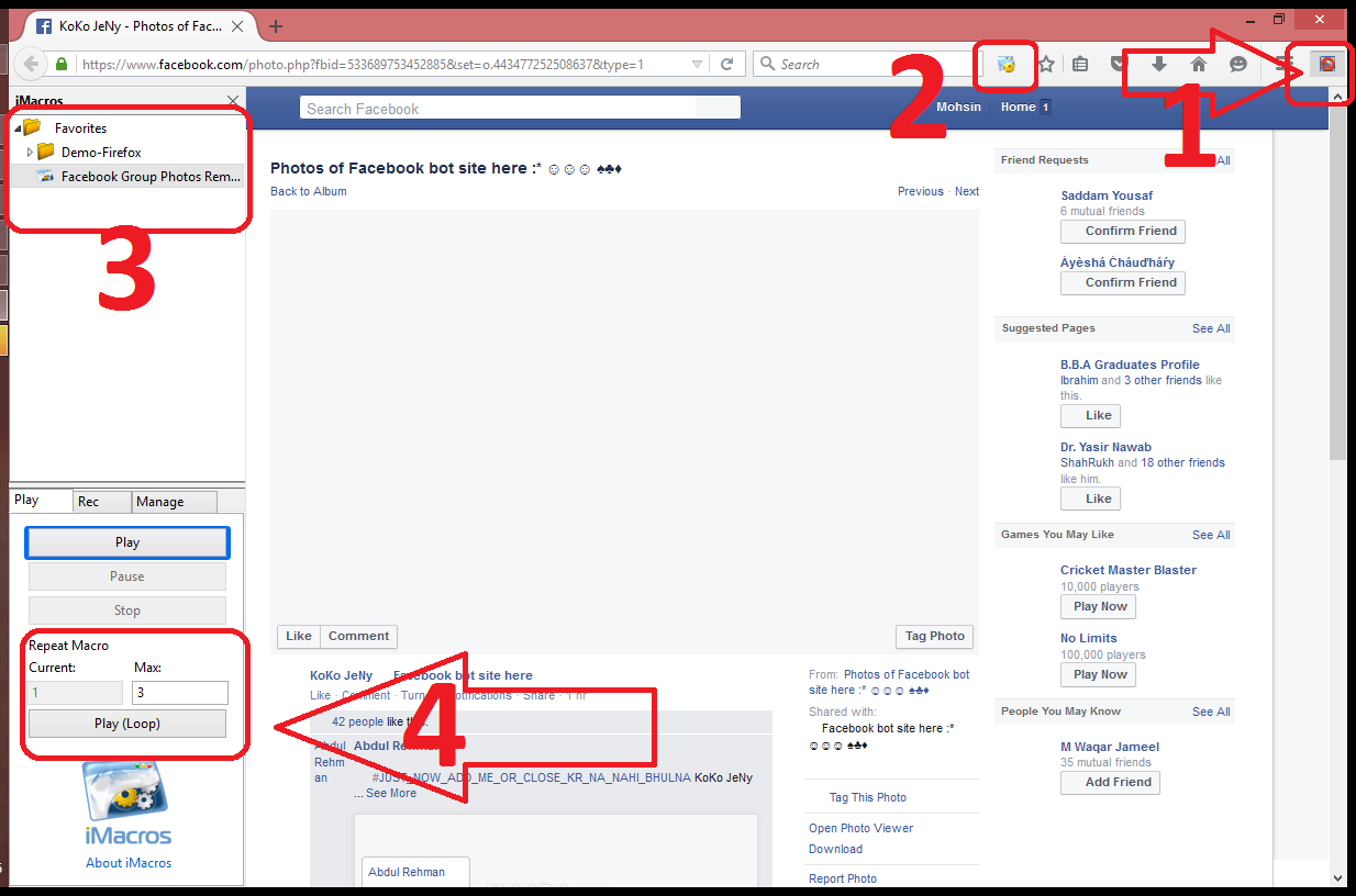 Remove All Facebook Group Photos At Once - Studyofcs