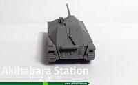Tanque Segunda Guerra Mundial y Barricadas 15mm [Terrains4Games].
