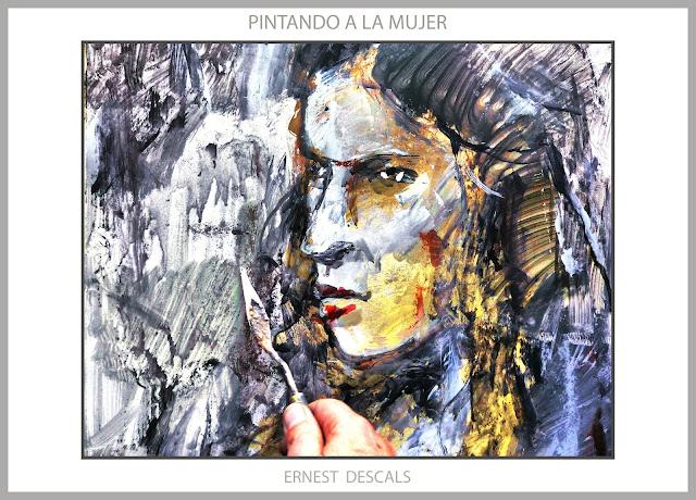 PINTURA-MUJERES-PINTAR-PINTANDO-MODELOS-MUJERES-CUADROS-FOTOS-ARTISTA-PINTOR-ERNEST DESCALS-