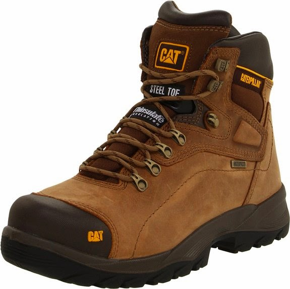 Shoes Boots Caterpillar Men's Diagnostic Steel-Toe Waterproof