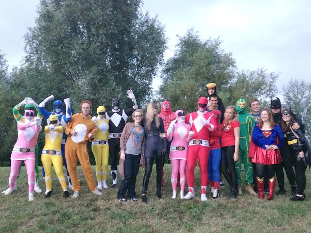 superhero themed party