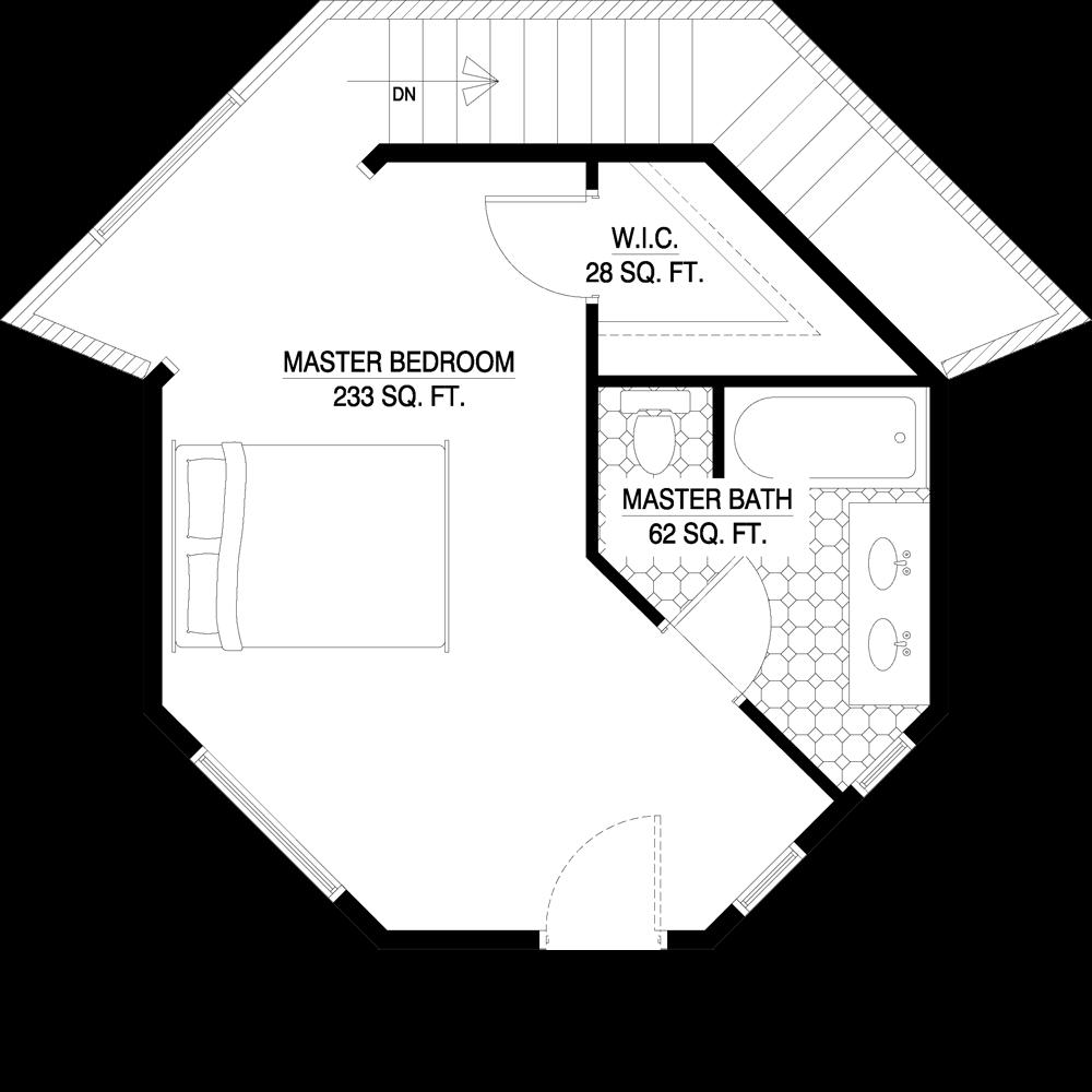 Arquitectura de casas casas modernas redondas en los for Planos de casas norteamericanas