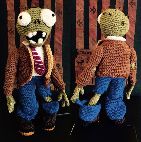 Studio Holalola Textiles And More Crochet Zombie