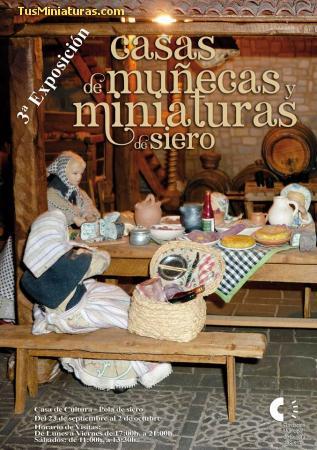 3ªExposición Casa de Muñecas y Miniaturas de Siero