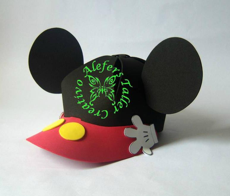 Gorra  Mickey Mouse  En Foami