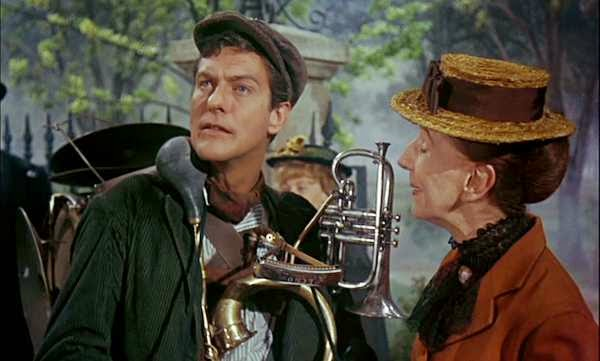 Dick van Dyke as Bert in MARRY POPPINS