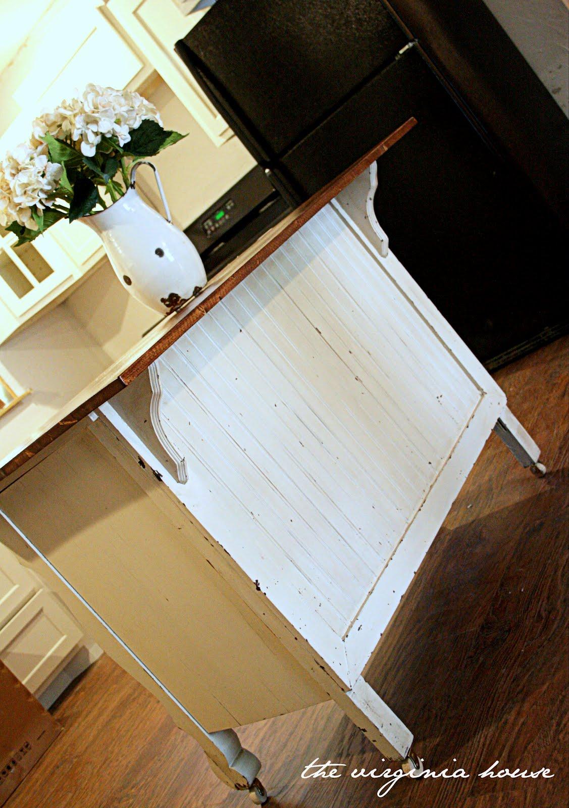The Virginia House: Old Dresser = Kitchen Island
