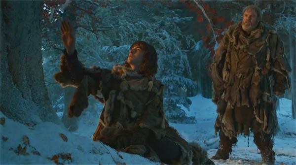 """Bram Stark y Hodor en """"Juego de Tronos 4x02"""""""