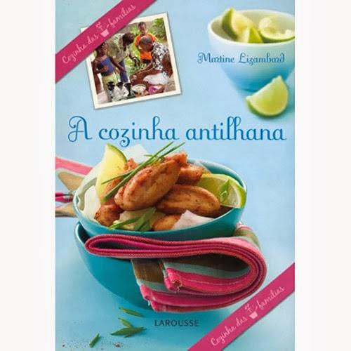 livro de receitas cozinha antilhana