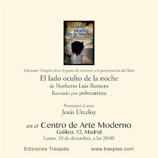 Presentación de «El lado oculto de la noche» en Madrid