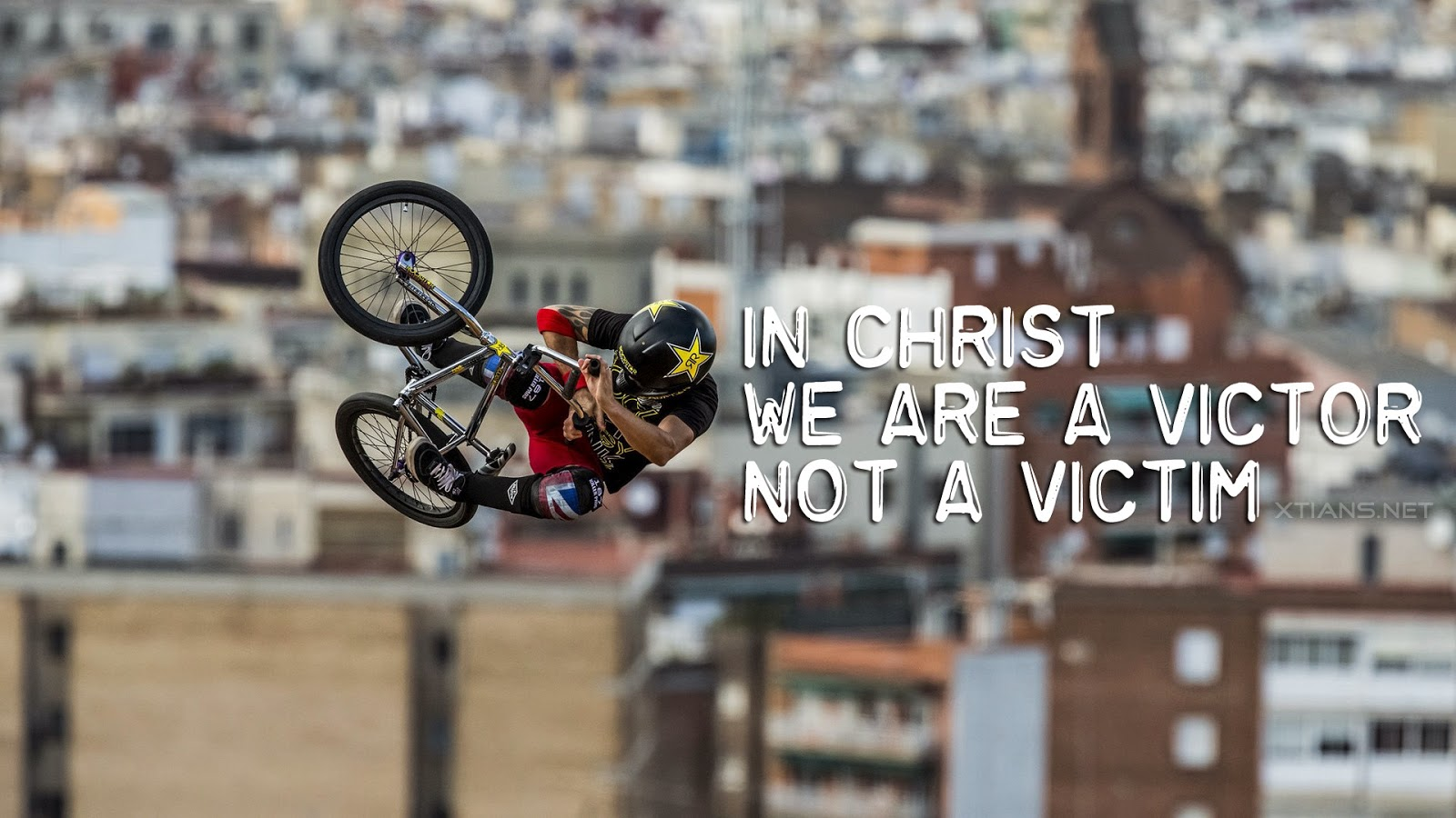 Christian Wallpaper - We are victor not a victim
