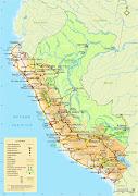 Mapa del Perú (mapa del per㺠fisico politico lr)