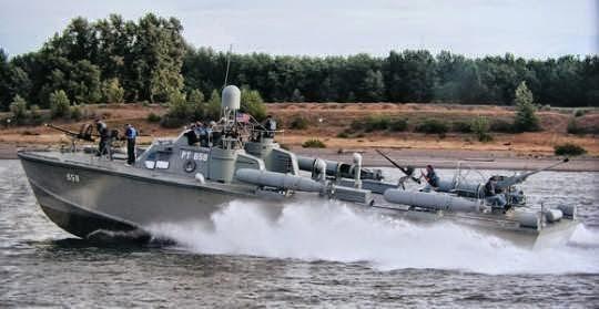 Indigenous Homemade Torpedo Boat of Myanmar Navy