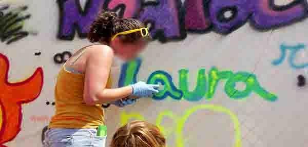 Escribe tu nombre en graffiti