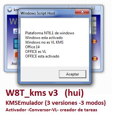 Activador W8T KMS 3.3.2