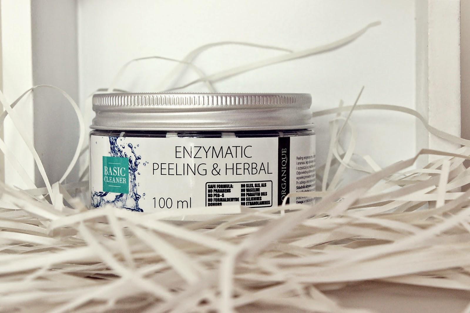 Organique, Peeling enzymatyczny z ziołami