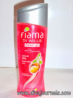 Fiama Di Wills Shower Gel - Couture Spa for Replenishing Care