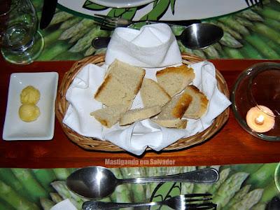 Restaurante Aspargos: Couvert