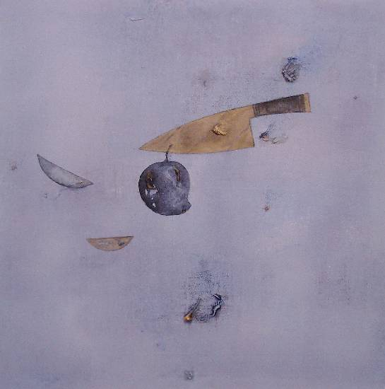 Untitled - 4, Painting by Arvind Patel, Acrylic on Canvas , 36 x 36 inches ( part of his portfolio on www.indiaart.com)