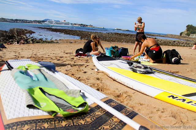 stand up paddle,hossegor surf club,saint-jean de luz
