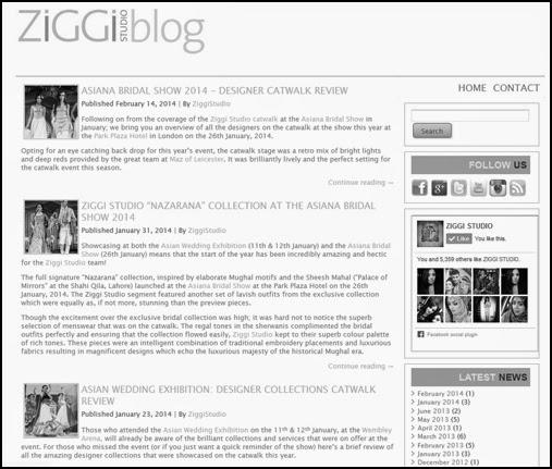 Oozes Couture - www.ZiggiStudioBlog.co.uk