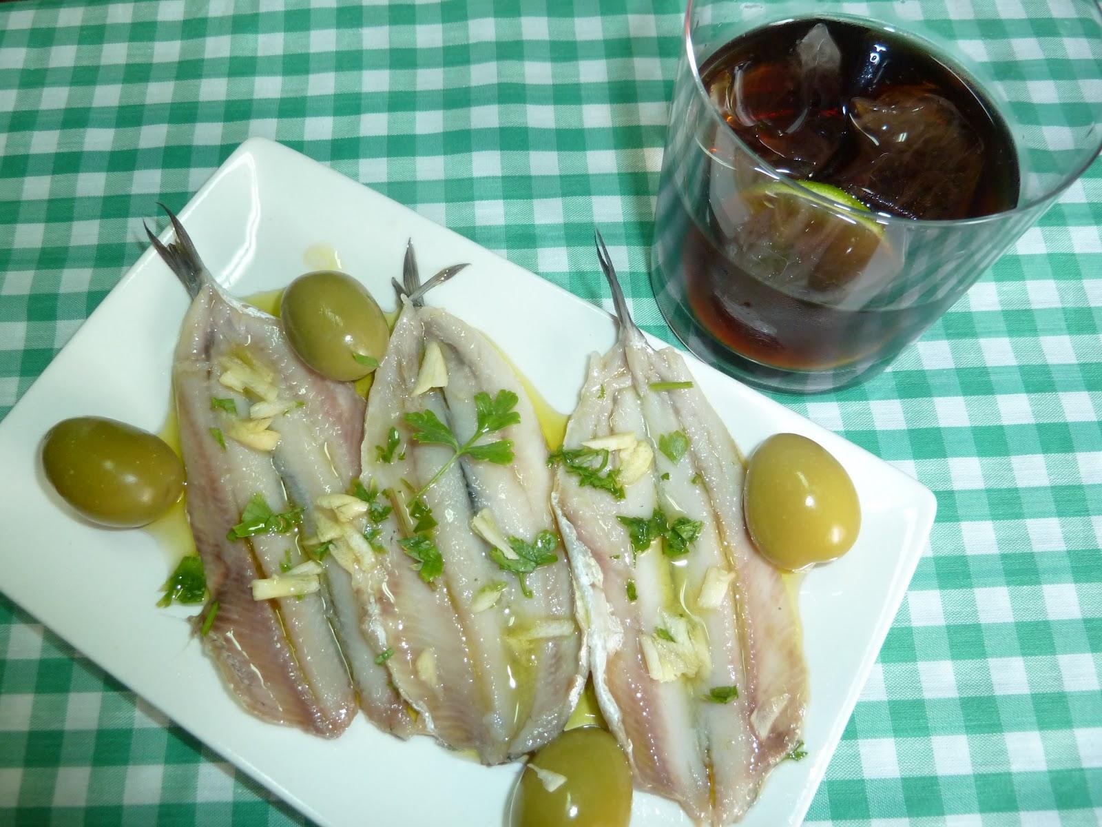 La cocina de sariqui hora del vermut boquerones en vinagre - Boquerones en vinagre duros ...