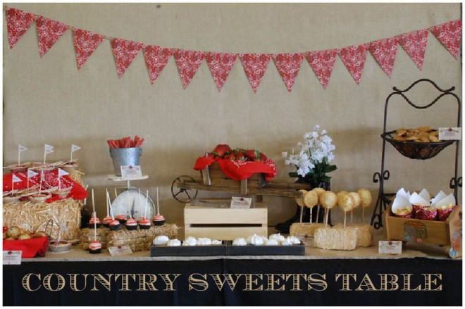 baby shower food ideas country themed baby shower ideas