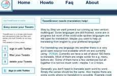 TweetEraser: servicio para borrar todos los tweets de una cuenta de Twitter