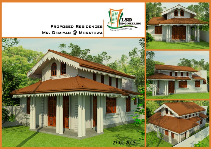 Sri Lanka Building Construction Company House