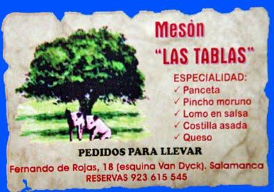 MESÓN LAS TABLAS