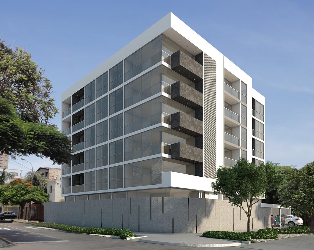Pin fachadas edificios modernos departamentos ajilbabcom for Fachadas de departamentos modernos