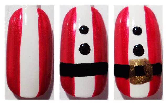 Luxury Gifts Guest Post Lauras Christmas Nail Art Designs