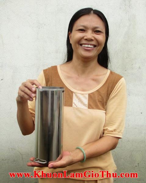 Cô Thanh - Mua khuôn làm giò thủ 2kg ở Quận 12