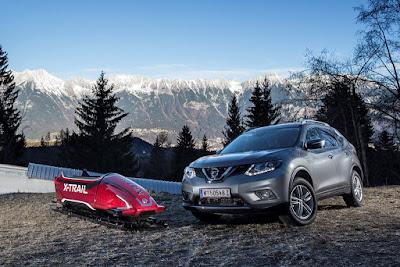 Το παγκοσμίως πρώτο, επτά θέσεων αγωνιστικό έλκηθρο είναι Nissan!