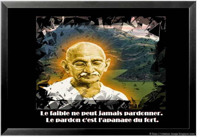 Citation gandhi en image