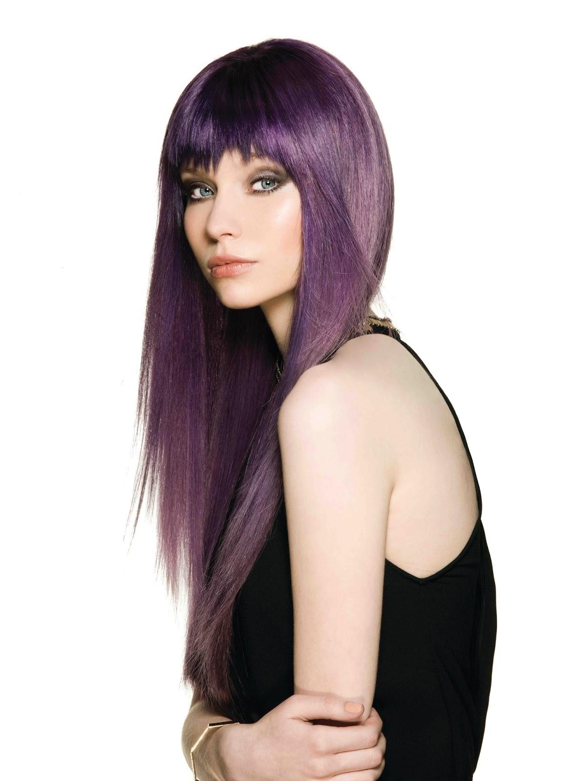 Popolare Tagli Capelli by Estetica.it: Capelli viola: crazy hairtrend  IE99