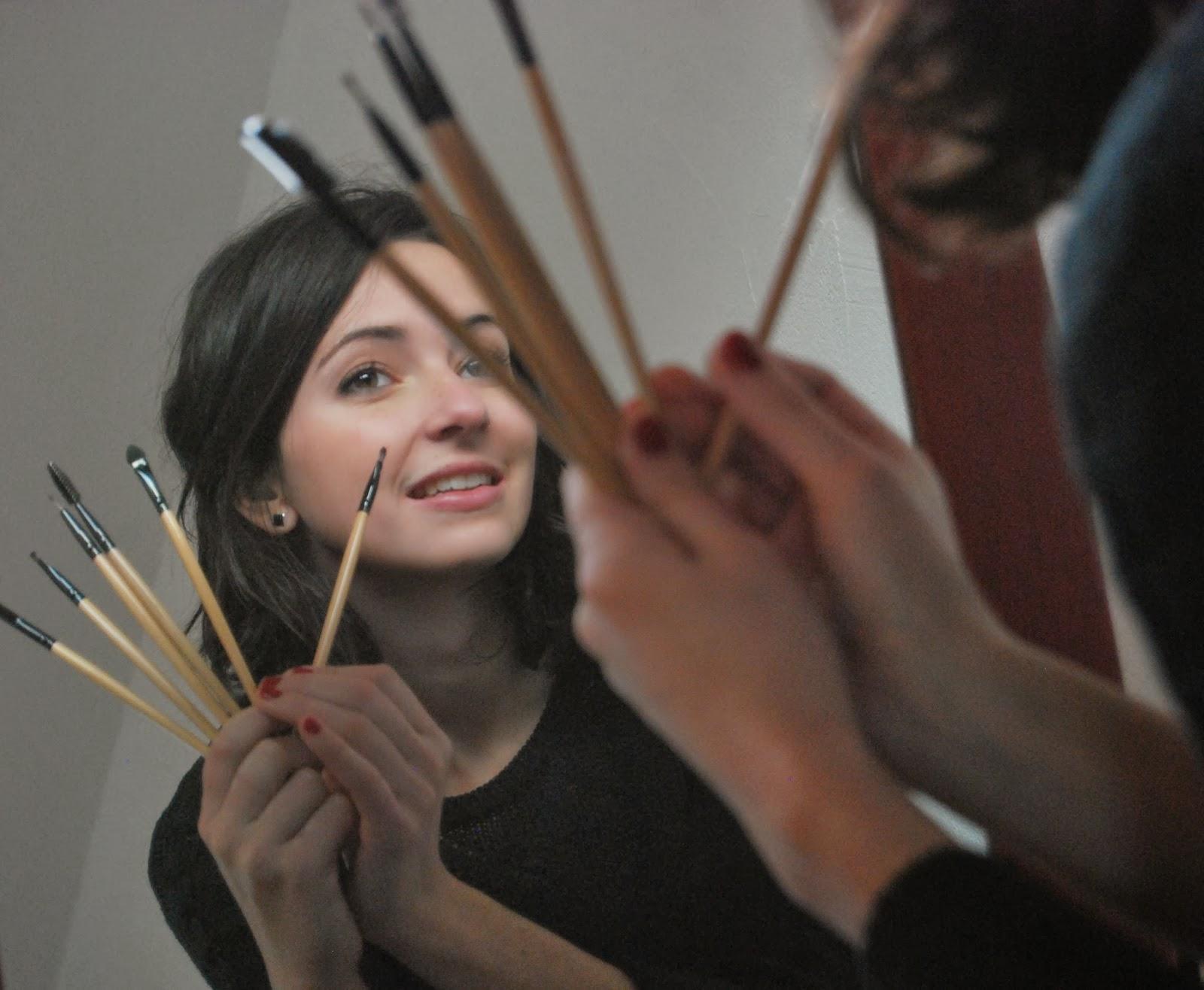 Les chroniques de clem 39 pinceaux maquillage mode d 39 emploi 2 - Pinceaux maquillage utilisation ...